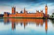 Houses of parliament - Big ben, england, UK - 78565011