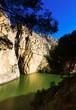 Obrazy na płótnie, fototapety, zdjęcia, fotoobrazy drukowane : General view of  Caminito del Rey with Railway bridge