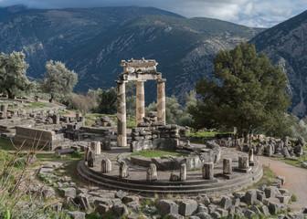 Temple of Athena in Delphi