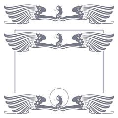 Stamp eagle for registration of your work.