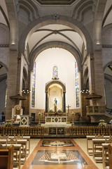 manila cathedral interior in philippines