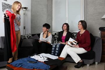 Vente en réunion à domicile