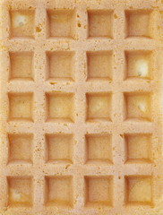 Close - up Delicious sweet waffle for background use