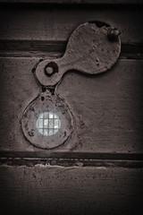 Gefängnis - Zellentür