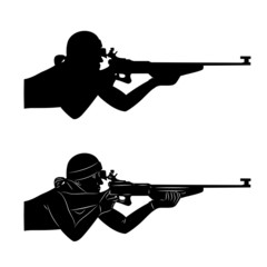 vector biathlon shooter