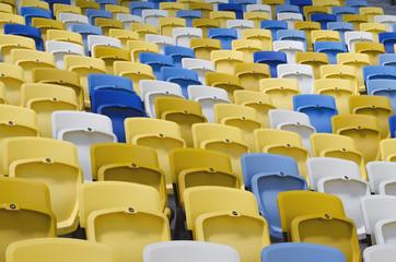 Chairs at the stadium