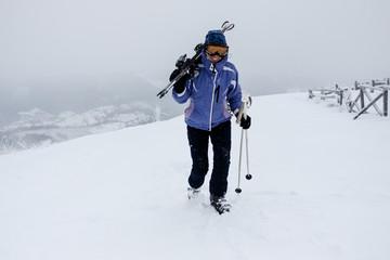 Skier girl.