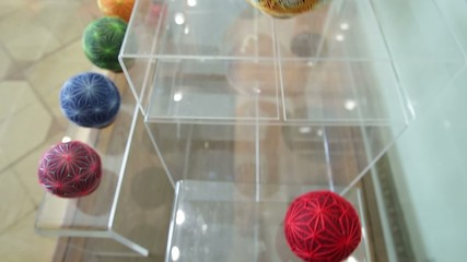 Colorful Temari balls