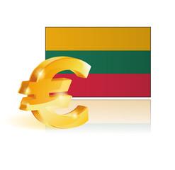 euro - lithuanie