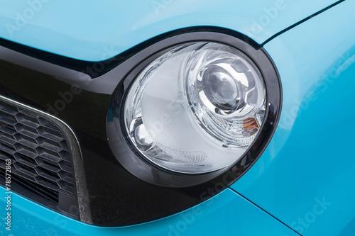 日本車のヘッドライト japanese car head light