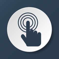 Sign emblem vector illustration.