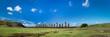 Leinwanddruck Bild - Easter Island, Ahu Tongariki