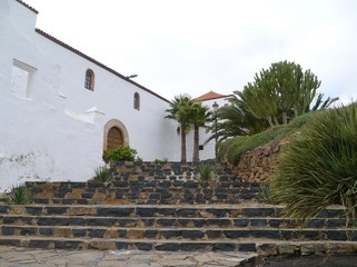 The Iglesia Santa Maria in Betancuria on Fuerteventura