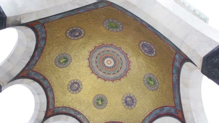 Mosque dome interior