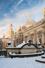 Winterzeit in Dresden