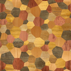 Abstract paneling pattern - seamless background - laminate floor