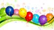 Obrazy na płótnie, fototapety, zdjęcia, fotoobrazy drukowane : Balloons background