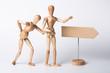 Leinwandbild Motiv Notfall, Rückenschmerzen