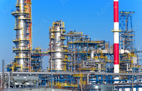 Oil and gas processing plant, refinery. - 78578224