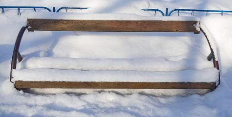 snow bench3