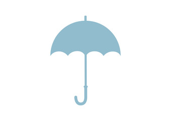 Umbrella vector icon on white background
