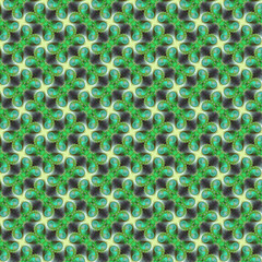 Bright  pattern, gray-green