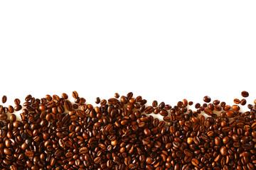 vorlage: kaffebohnen schüttung, präsentations chart