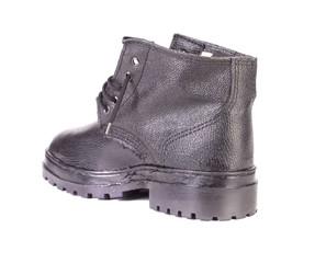 Black sport boot