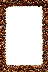 Rahmen aus Kaffebohnen