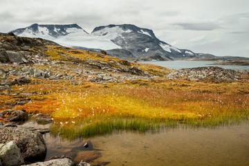 Hochgebirge in Norwegen