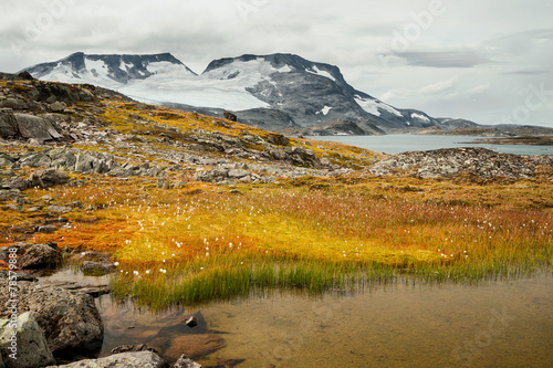 canvas print picture Hochgebirge in Norwegen