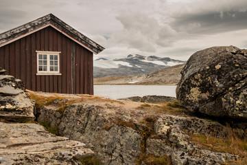 Ferienhaus im Gebirge in Norwegen