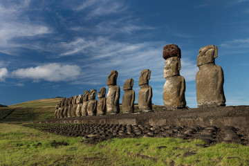 Easter Island, Moai Ahu Tongariki