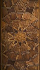 wood door carving