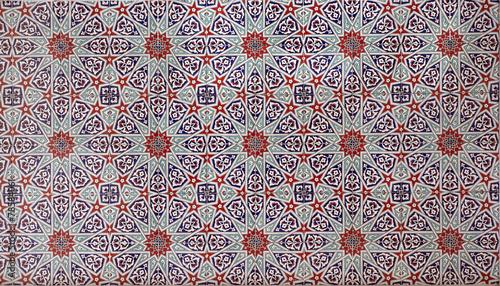 Seamless mosaic tile pattern - 78584061