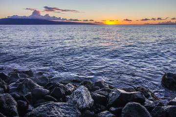 Maui Sunset at Shore
