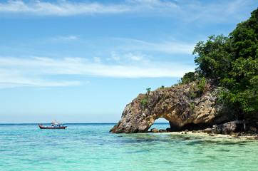 Talu island, amazing sea and island in Thailand