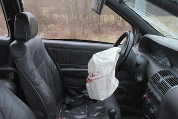 Car Crash air bag