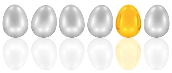 ein goldenes Ei