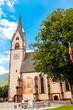 canvas print picture - Kirche Kötschach