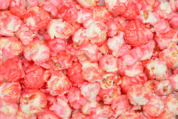 pink candy popcorn