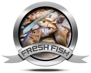 Fresh Fish - Metal Icon