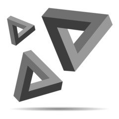 Triangle Optical Illusion