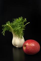 finocchio e mela