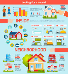 Building Infographics Set