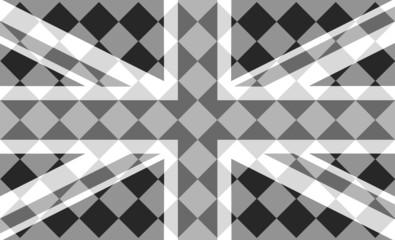 London flag BW