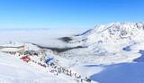 Winter in Tatras, on the top of Kasprowy Wierch