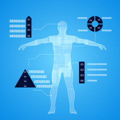 Infographics Human Body Anatomy