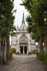 Francia,castello di Amboise,chiesa.