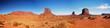 Leinwanddruck Bild - Monument Valley, Arizona